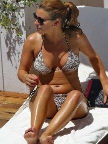 Coleen Rooney in sexy bikini