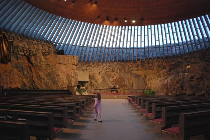 Church Built in a Giant Piece of Granite