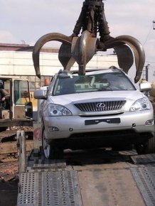 Lexus RX350. The Last Moments