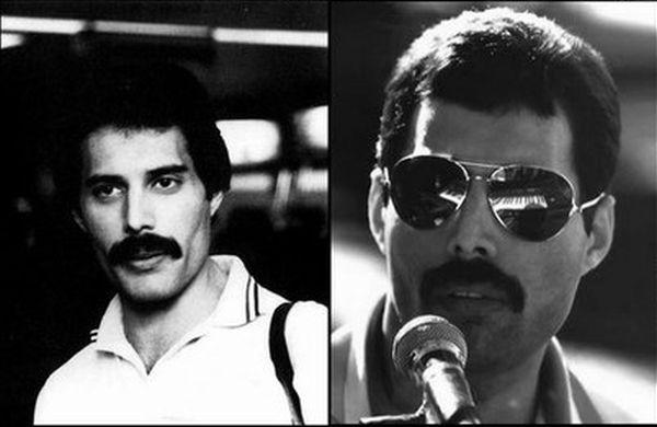 Freddie Mercury Aging Timeline