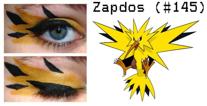Pokemon Inspired Eye Make-Up