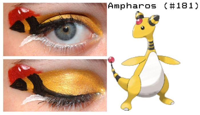 Pokemon Inspired Eye Make-Up