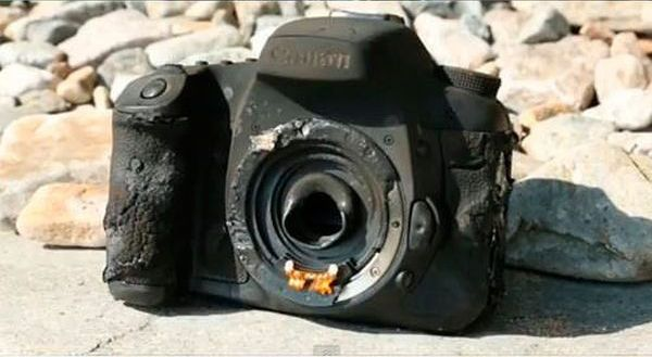 It's Impossible to Destroy Modern Cameras?
