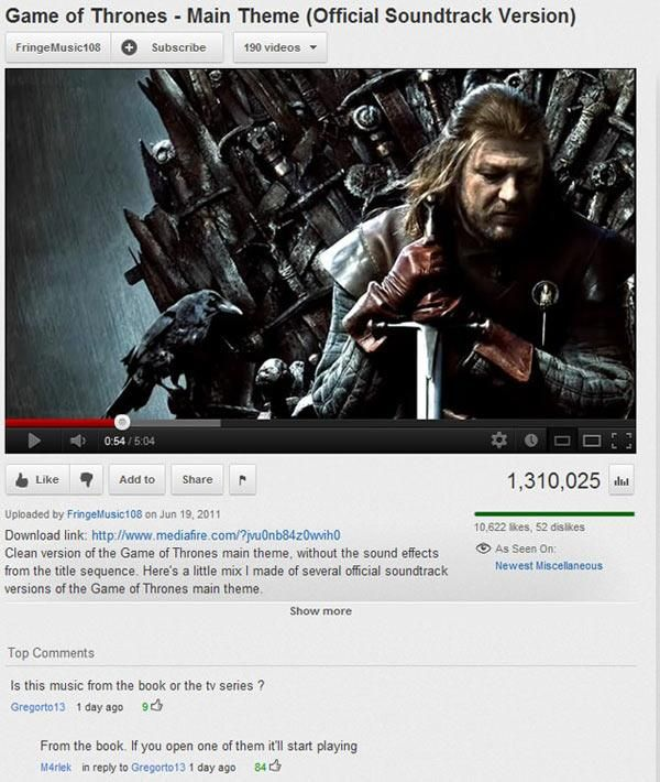 Funny Youtube Comments, part 2