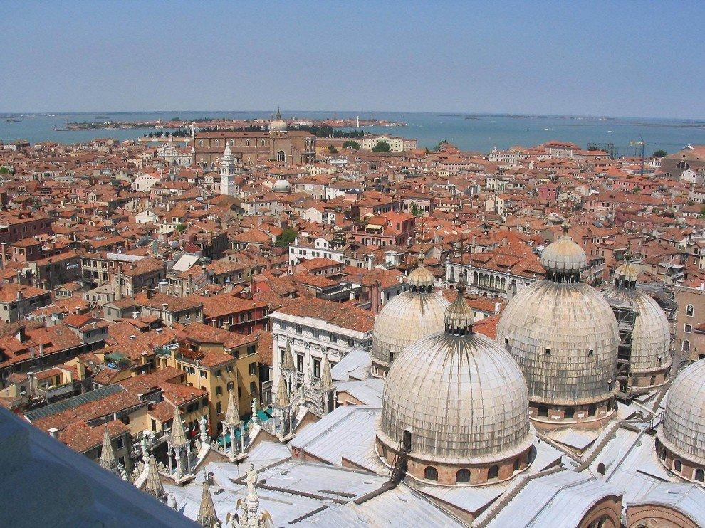 Venice bird's-eye view
