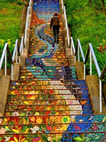 Beautiful Steps in San Francisco