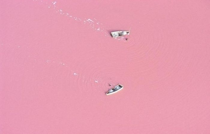 Lake Retba, Senegal's Pink Lake