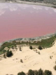 Lake Retba, Senegal's Pink Lake