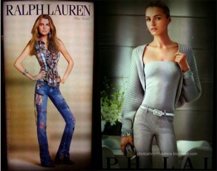 Model Photoshop Fails