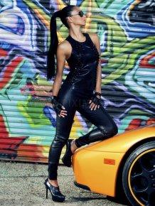 Nicole Scherzinger in Fabulous Magazine