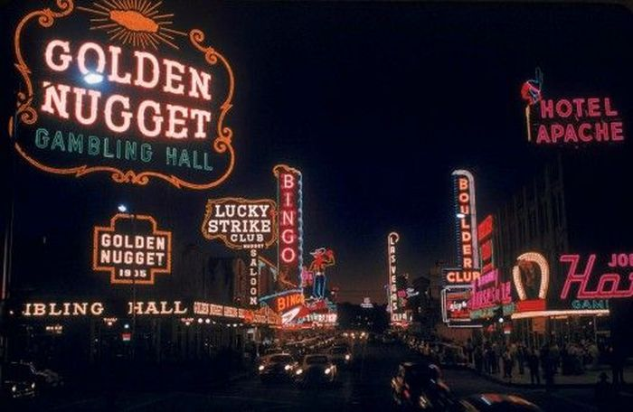 Las Vegas in 1955, part 1955