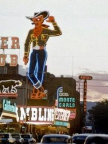 Las Vegas in 1955