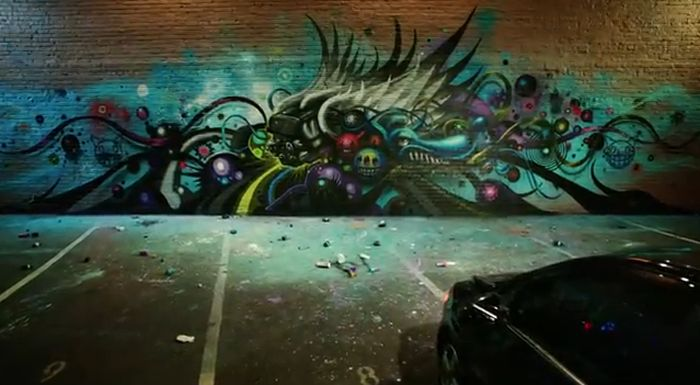 Graffiti Car by Jeff Soto