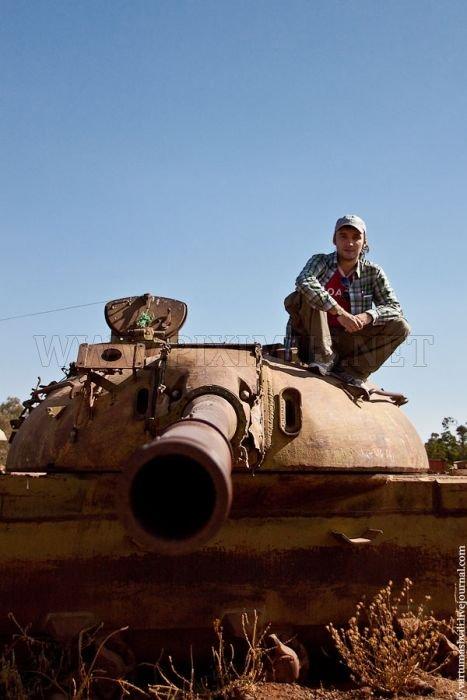 Tank Cemetery in Eritrea