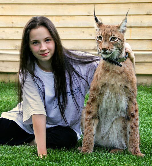 Unusual Pet Joins Happy Family
