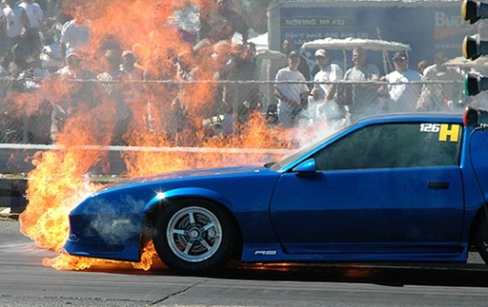 Sport Cars on Fire