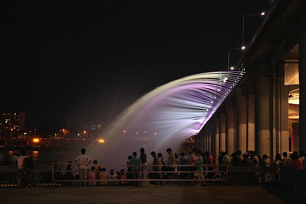 Fountain - Moon Rainbow