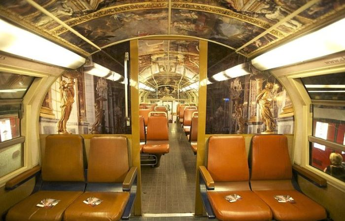 The Interior of Paris - Versailles Train