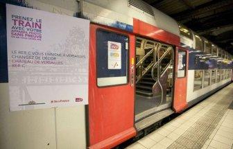The Interior of Paris - Versailles Train