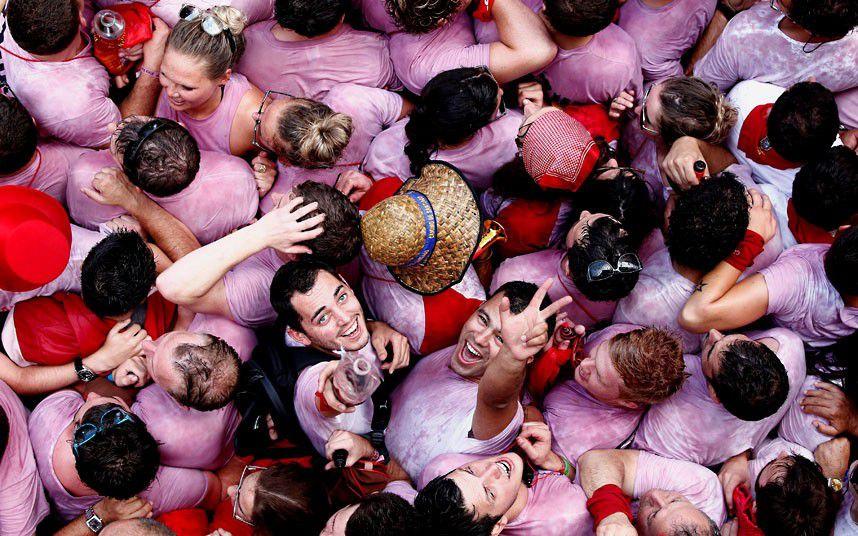 San Fermin Festival Revelry