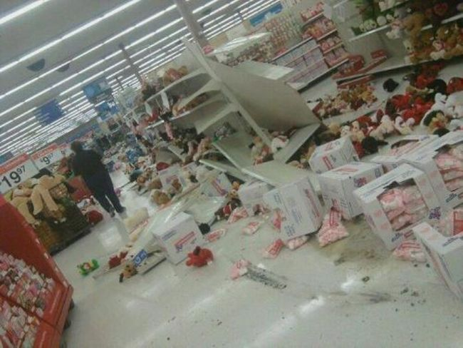 Grocery Store Mess