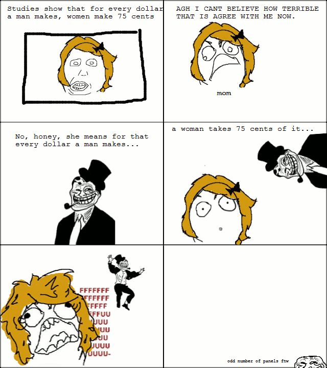 The Best of Troll Dad Rage Comics
