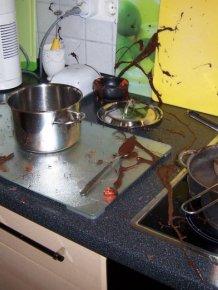 DIY Chocolate Bowl Fail
