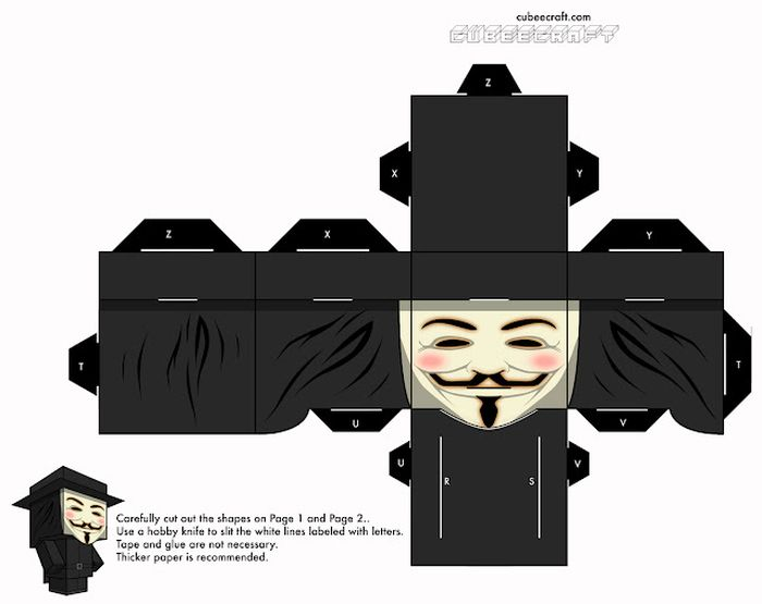 Anonymous Cubeecraft - Vendetta Cubeecraft