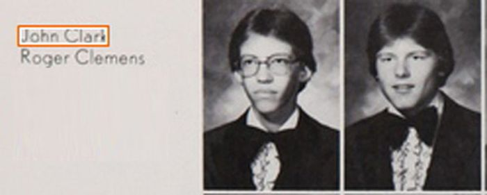 Yearbook Photos of Famous Athletes