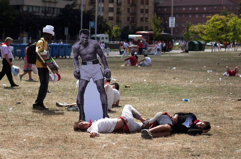Festival of San Fermin 2012, part 2012