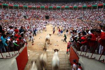 Festival of San Fermin 2012