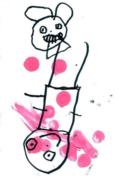 Bizarre Children Drawings