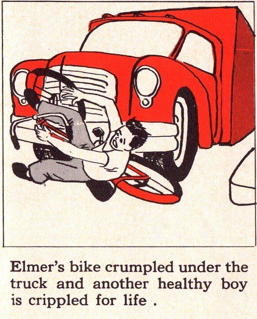 Official Safety Manual for American Children 50s