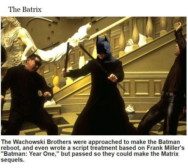 "Interesting Facts About ""Batman Begins"""