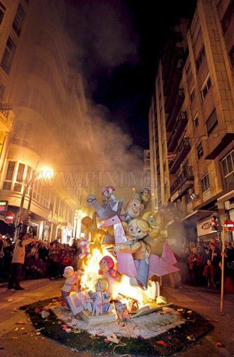 Saint Joseph Celebration in Valencia, Spain