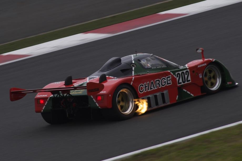 Exhaust backfires