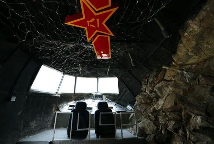 Military-Themed Restaurant in Beijing, China
