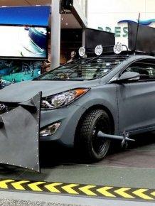 Hyundai's Zombie Survival Machine