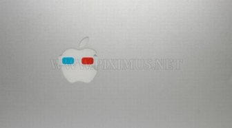 Apple Logos Wearing Glasses