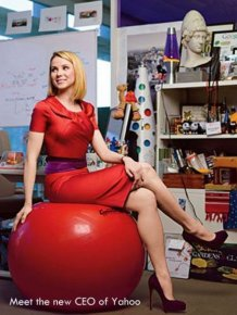 Yahoo's New CEO Marissa Mayer