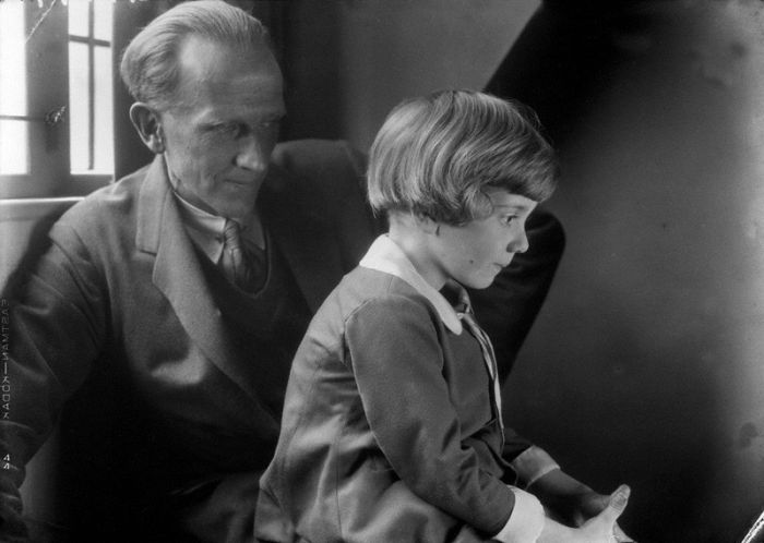 Christopher Robin Milne in 1928, part 1928