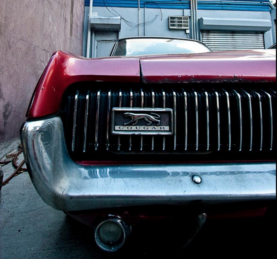 1967-68 Mercury Cougar