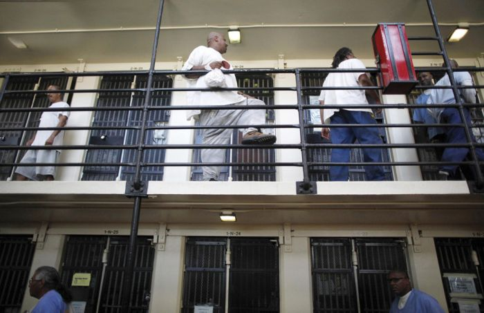 Inside san quentin state prison
