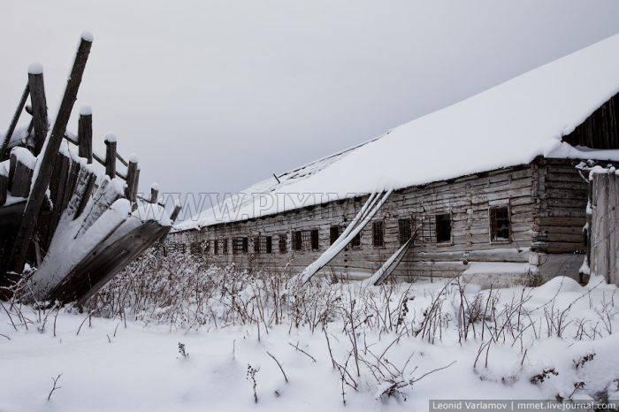 Abandoned Russian Prison