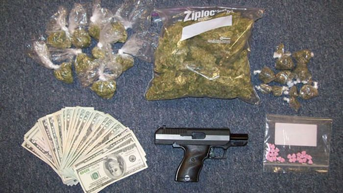 Ceased Guns, Drugs, and Money