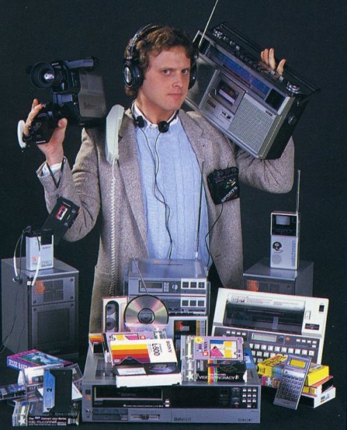 Welcome to the future - according to the 1980s
