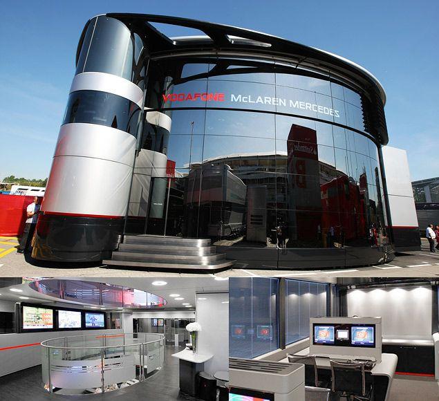 F1 Motorhomes Vehicles