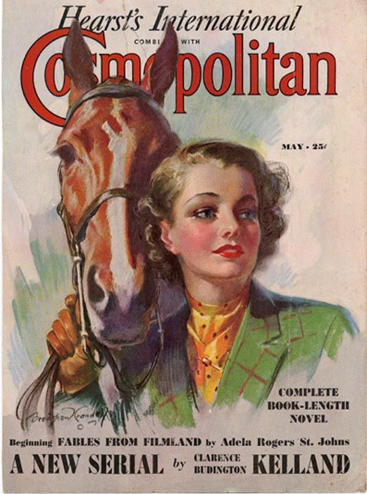 The Evolution of Cosmo Covers Since 1896 , part 1896