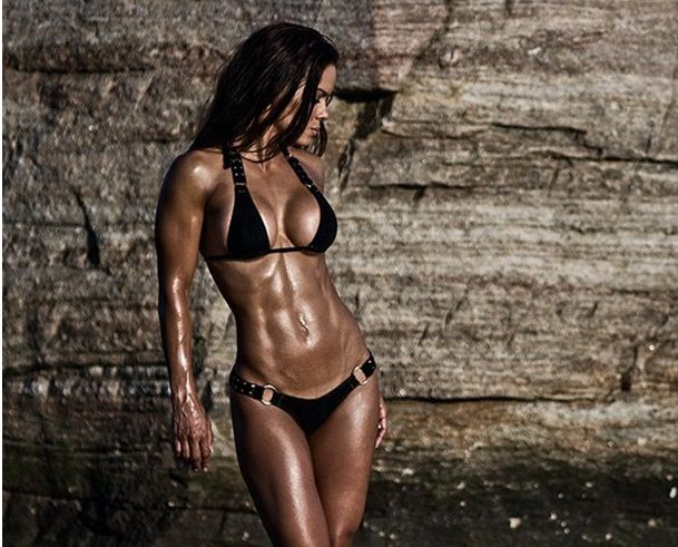 Ripped Female Abs