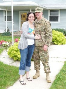 Her Husband Is Serving in Afghanistan...
